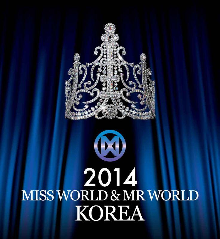 2014 미스 월드 코리아 왕관 대회 포스터 #missworld #korea #tiara #veluce