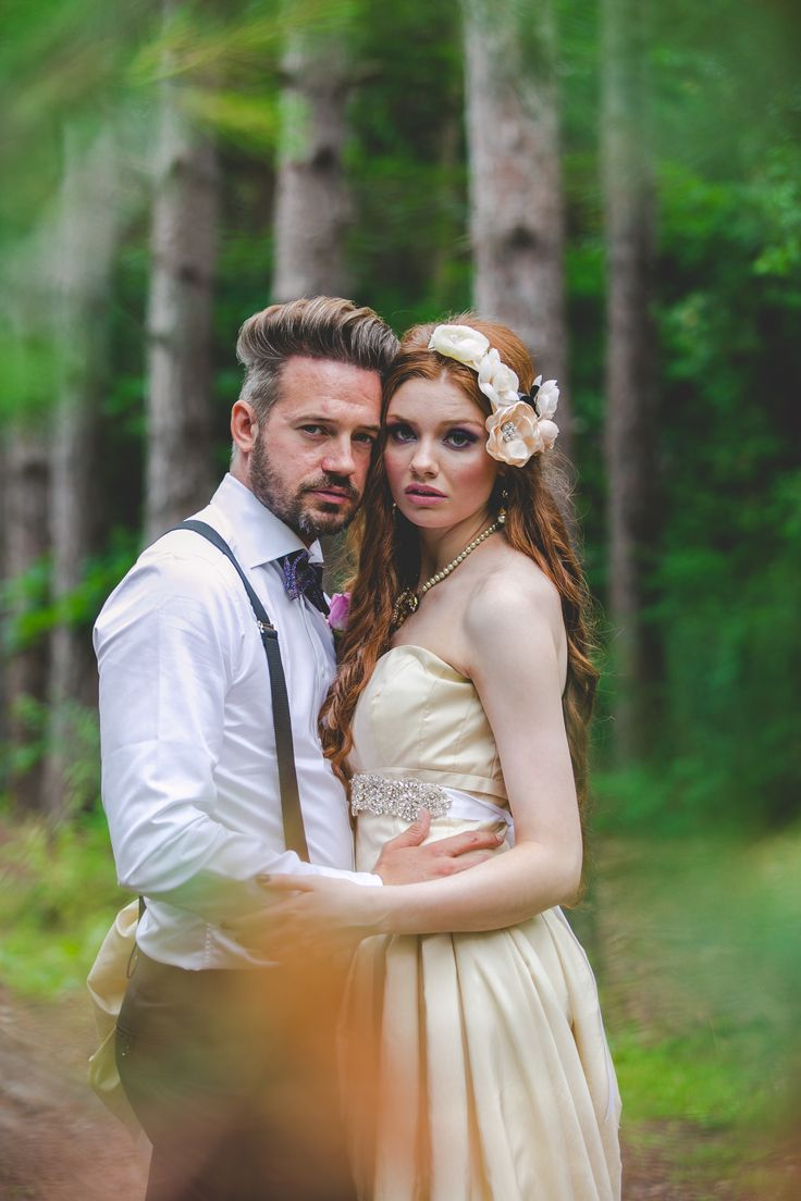 Enchanted Forest Photoshoot.  Jewellery by: Hattitude http://www.hattitudejewels.com
