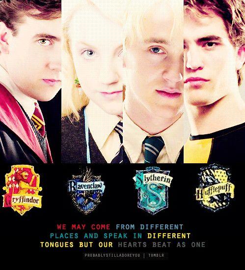 Harry Potter Neville Longbottom ~ Luna Lovegood ~ Draco Malfoy ~ Cedric Diggory