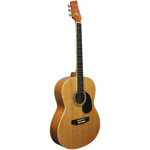 Kona K391 Parlor Size Acoustic Guitar Walmart Com Kona Guitars Guitar Acoustic Guitar