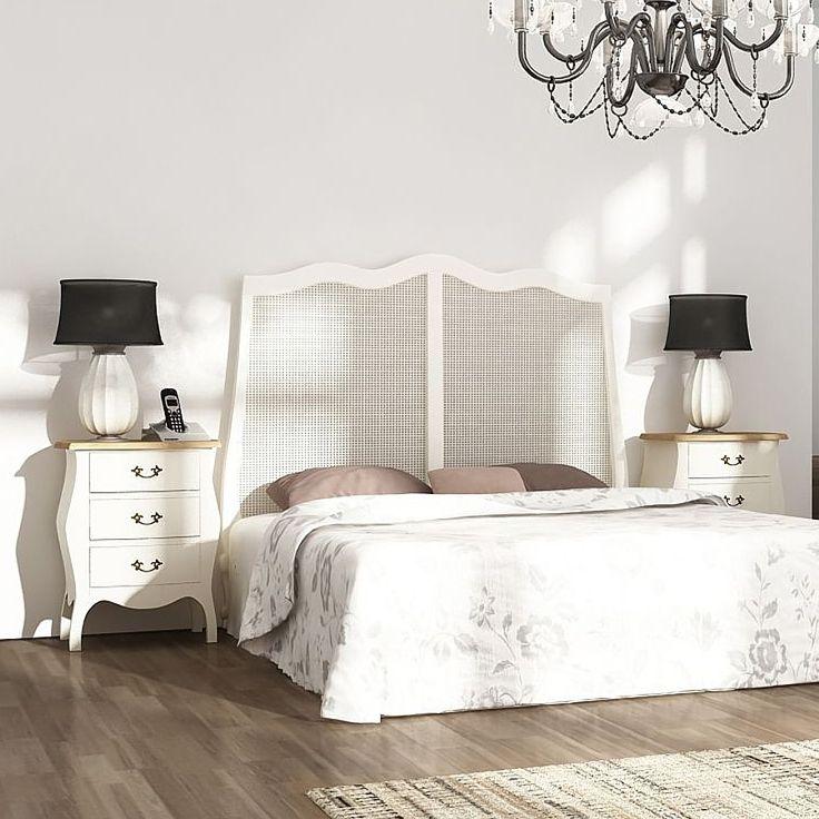 Dormitorio provenzal de matrimonio alsacia dormitorios - Dormitorios estilo provenzal ...