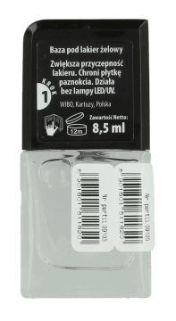Wibo, Incredible Gel, baza pod lakier żelowy, 8,5 ml, nr kat. 218534 - Internetowa drogeria Rossmann - Zakupy online