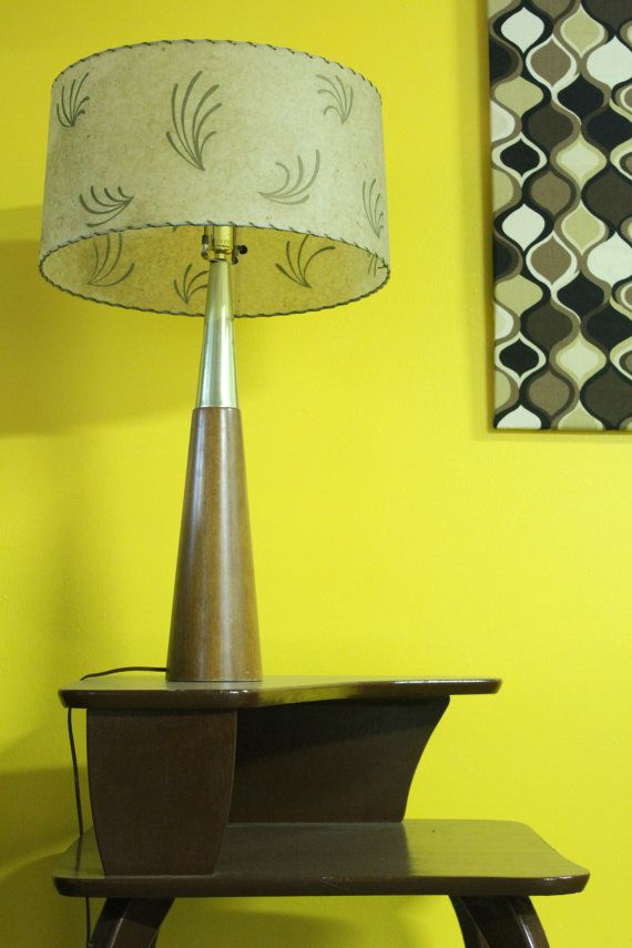 Great 1950s Fiberglass Lamp Shade Vintage Pinterest