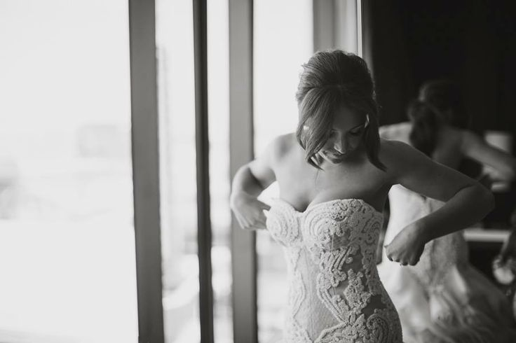 Shane and Jess's Melbourne town hall & Abbotsford convent wedding  Dress: Catherine R Couture
