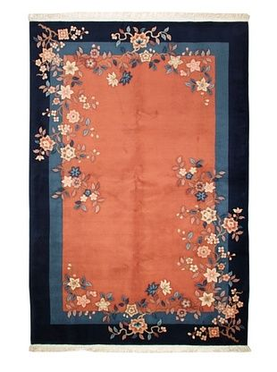67% OFF Roubini Chinese Art Deco Rug (Terracotta)