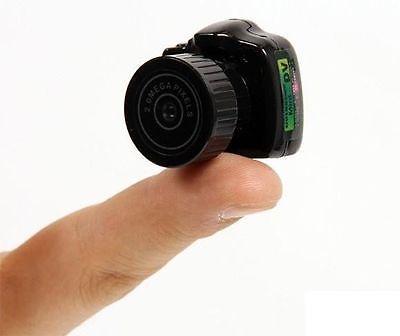 Smallest 720P HD Webcam Mini Camera Video Recorder Camcorder DV DVR Y2000