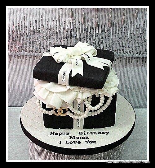Birthday Cake Images Black And White