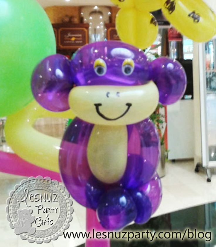 Mono globo globoflexia - Balloon Monkey