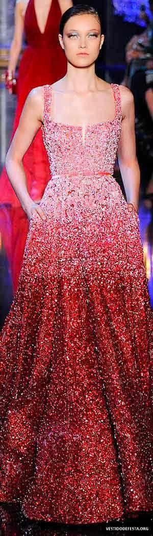Mejores 29 imágenes de Vestidos de Festa en Pinterest   Vestido rojo ...