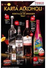 Gazetka Tesco • Karta Alkoholi, marzec 2016