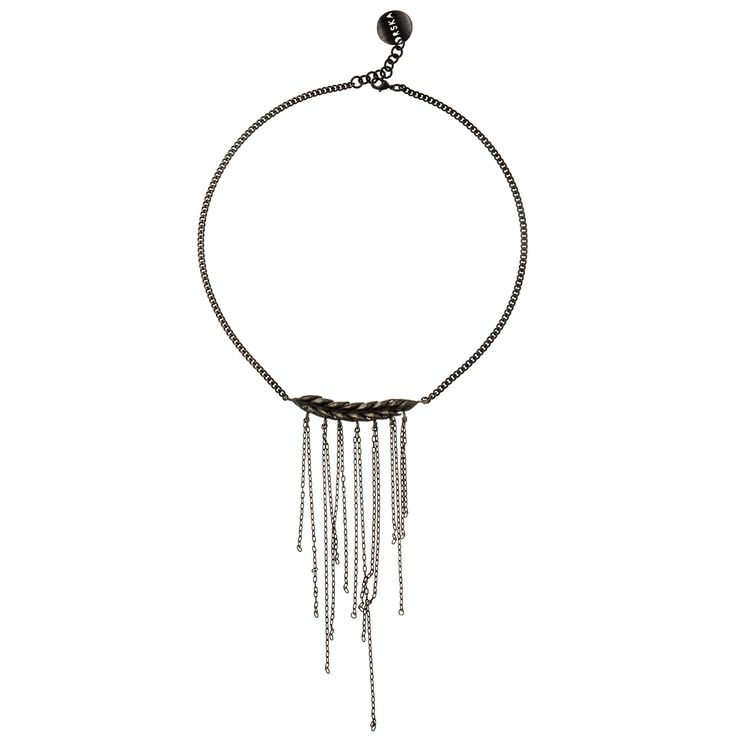 Nature is our inspiration, necklace with grain from BERY collection by Anna Orska.