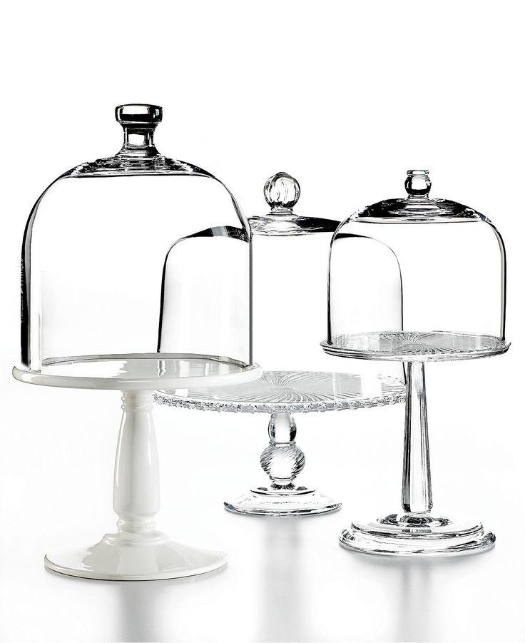 martha stewart collection serveware domed cake stands. Black Bedroom Furniture Sets. Home Design Ideas
