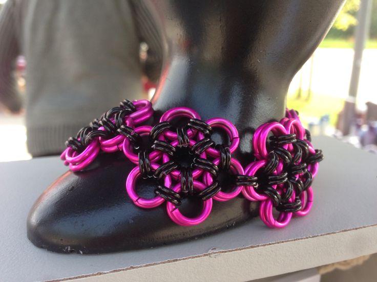 #Armband gemaakt voor een #bruid / #bracelet made on order for a #bride #bruidsjuwelen #bridaljewelry #bridesjewelery #armcandy