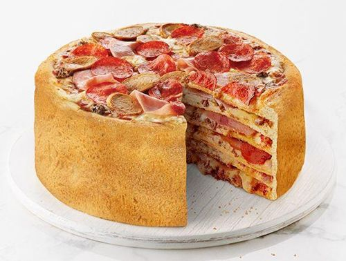 Boston Pizza's Pizza Cake