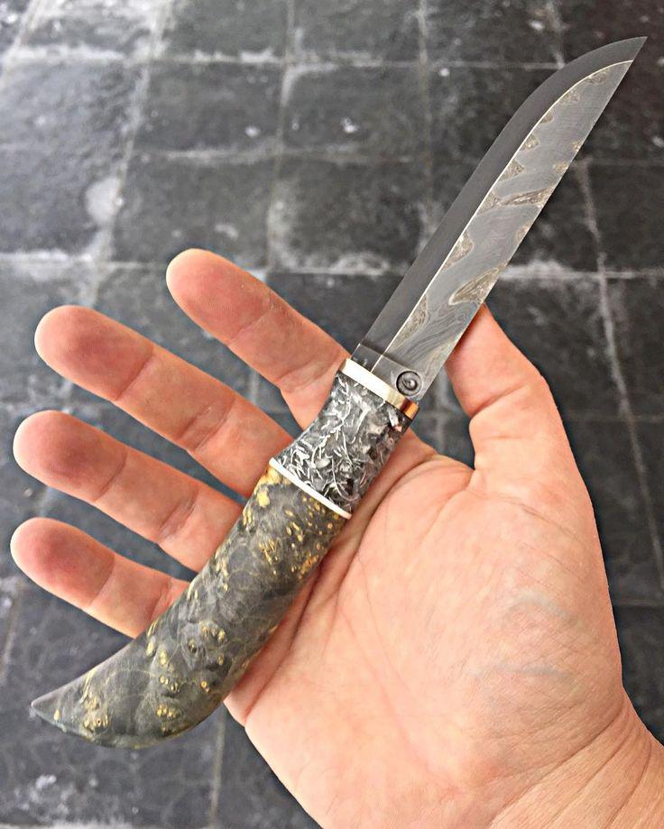 #knife #damascus #нож #русскийножевойинстаграм