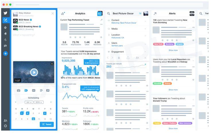 Twitter mulls offering a Tweetdeck subscription service