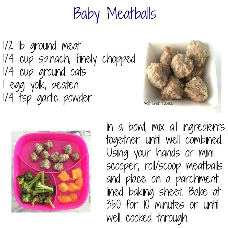 What I Feed My 8 to 12 Month Old - Ask Leah Renee