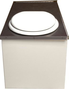 I've got some serious interest in this waterless toilet, uses kitty litter in the catch bin, completely evaporates and sanitizes liquid waste and 100% dries out solid waste. Emptying is similar to cleaning a litter box (but no liquids) 110V but can be solar powered.