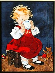 Muriel Dawson - Cocoa advert
