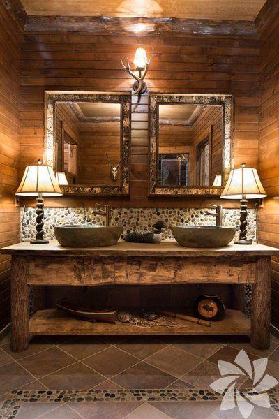 Rustik banyolar - 19 - HTHayat