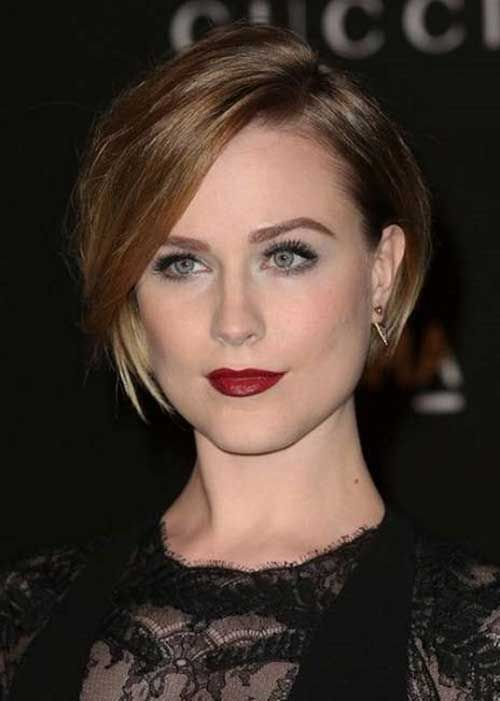 Nice Short Straight Hairstyles with Bangs | http://www.short-haircut.com/nice-short-straight-hairstyles-with-bangs.html