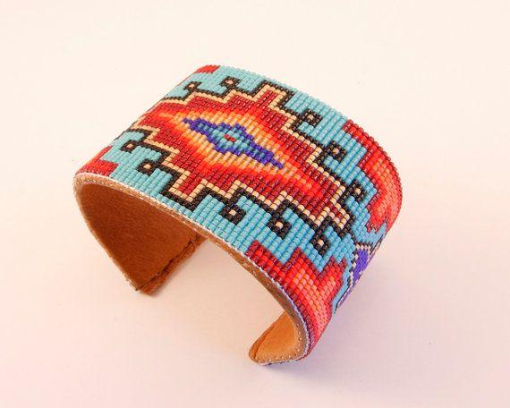 Native American inspiré individuellement à par PamBeadedAccessories