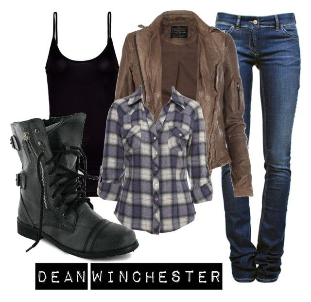 """""""Dean Winchester"""" by ally-winchester ❤ liked on Polyvore"""