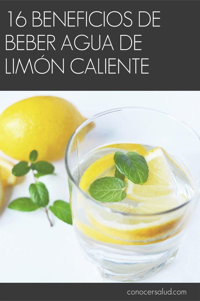 16 beneficios de beber agua de limón caliente #salud
