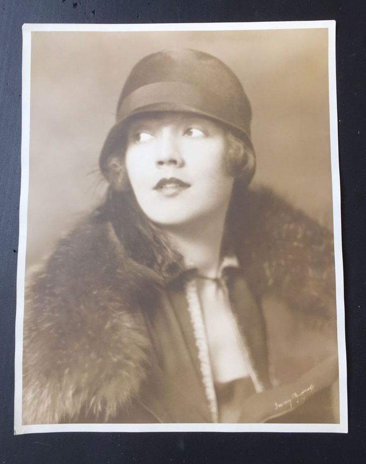Flapper LOIS WILSON by IRVING CHIDNOFF / Leading Lady of Silent Film /  NR