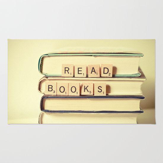 Read Books Area & Throw Rug