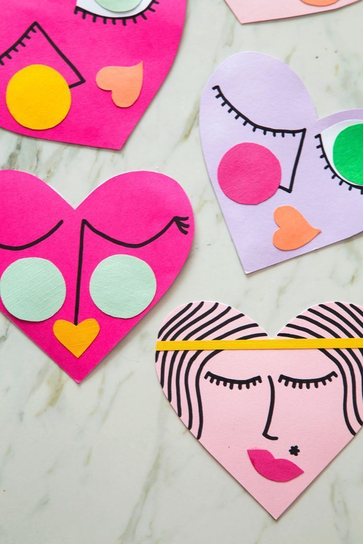 Wear It Share It Hearts With Images Diy Valentines Cards