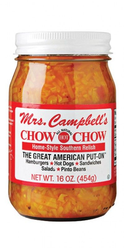 Golding Farms » Chow Chow. Go to Walmart in Frederick (or Food Lion) and GET SOME OF THIS Chow Chow. Not to diss McCutcheon's, a local favorite, but this is the best stuff I have ever tasted and it's a reasonable price! I keep eating it with a spoon!