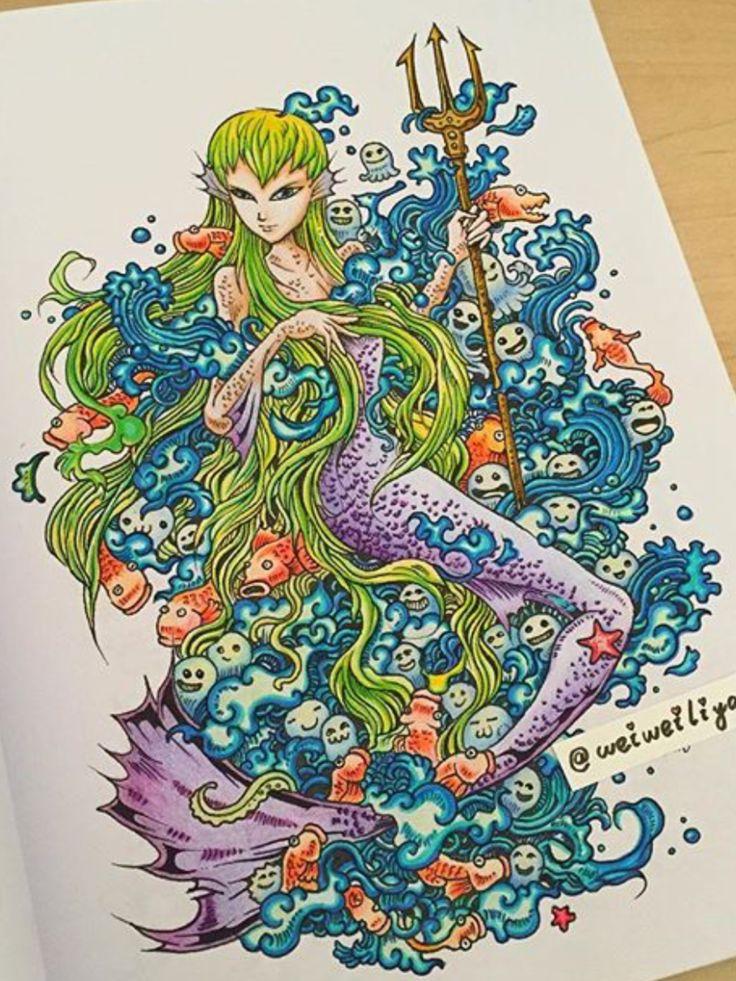 Doodle Adult ColoringColoring BooksDoodlesColour
