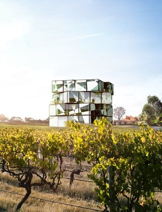 d'Arenberg (winemaker in McClaren Vale) Cube building designed by ADS Architects