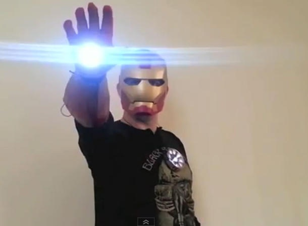Watch: How to make your own working Iron Man armor | Crave - CNET