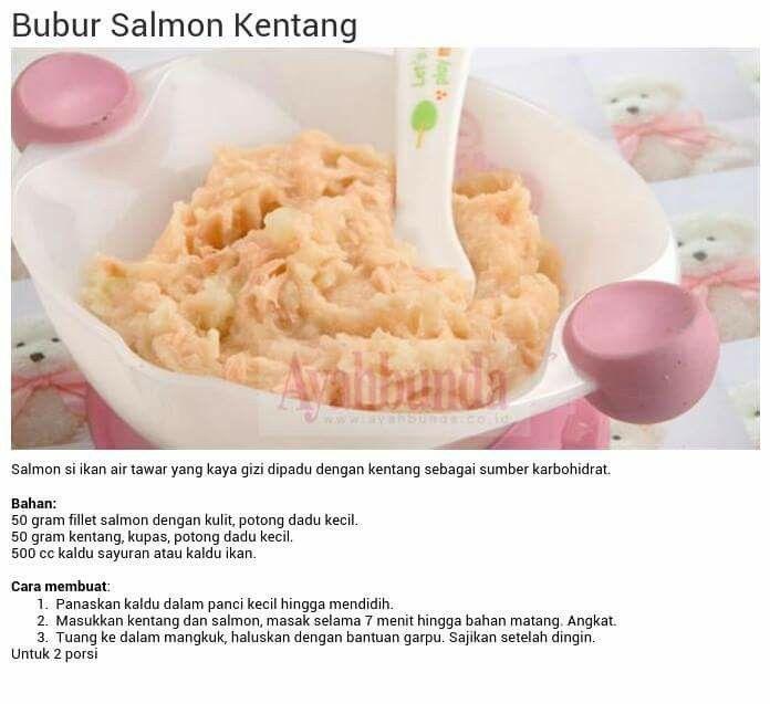 Bubur Salmon Kentang