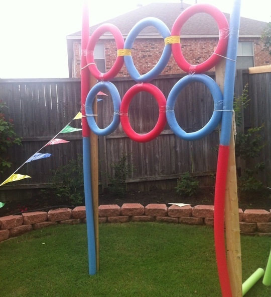 How to Make a Javelin Throw Carnival Game by Danika LoCicero