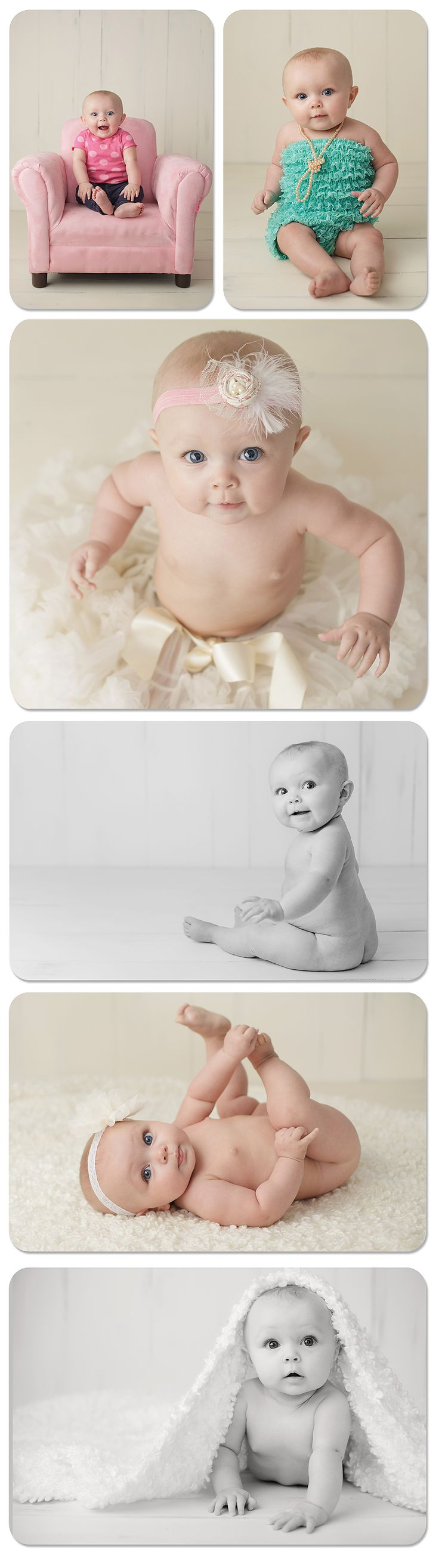 cute 6 Mo old photo shoot