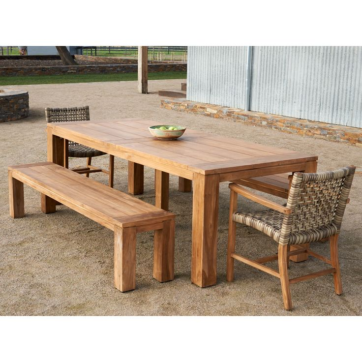 Melton Craft - Recyled Teak Tables - BBQ's & Outdoor
