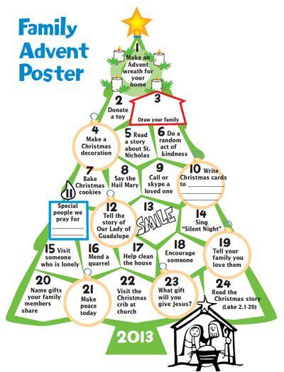 With a Faithful Heart:  Celebrate ADVENT and Keep Christ in Christmas.  Advent calendars, Jesse Tree ideas, Advent wreath, videos explaining Advent, printables.