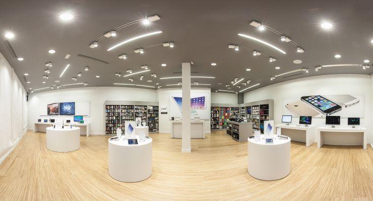 Panorámica tienda #Apple en #Madrid