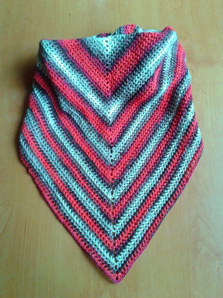 crochet - shawls (acrylic )