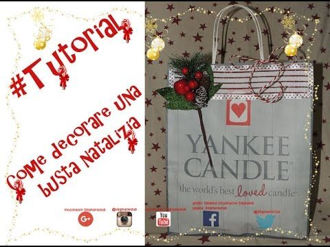 #Tutorial - DIY - Come decorare una busta natalizia