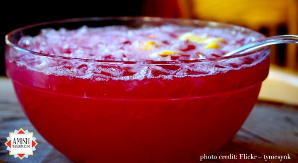 Beverly Lewis' Party Punch Recipe on www.amishwisdom.com