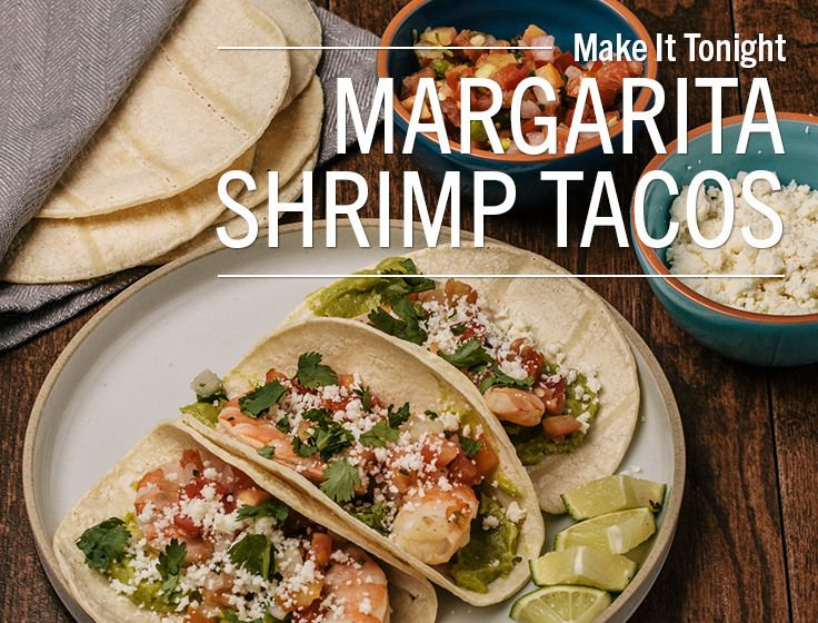 Margarita Shrimp Tacosthese Flavorful Shrimp Tacos Are The Perfect