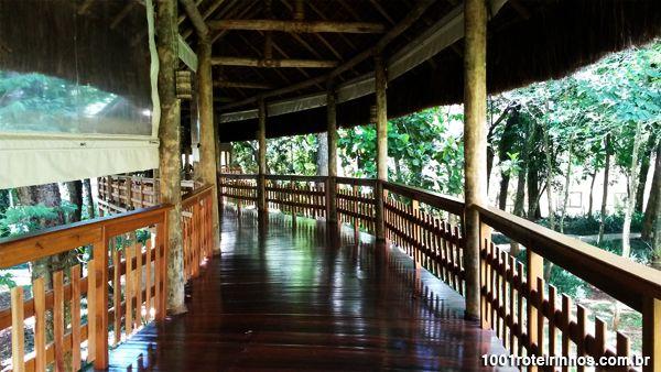 Mabu Thermas Grand Resort – Foz do Iguaçu - passarela