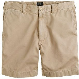 $64, Tan Shorts: J.Crew 7 Stanton Short. Sold by J.Crew. Click for more info: http://lookastic.com/men/shop_items/54579/redirect