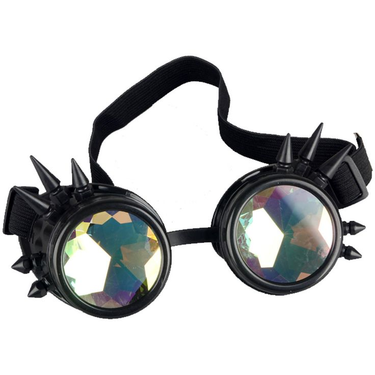 Multicolor Victorian Rivet Steampunk Eyewear Goggles Welding Cosplay Vintage Glasses Free Shipping