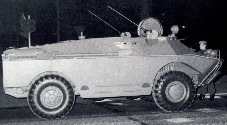 BRDM-2U command vehicle