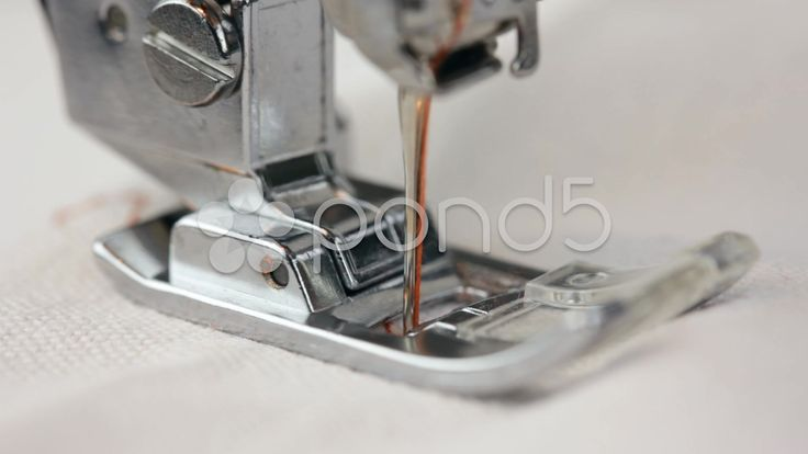 working part of sewing machine closeup - Stock Footage | by regisser